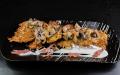 Брамбораки з грибним соусом