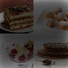 Десерты ресторан Vltava